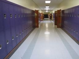 School Corridor Lockers Pennsylvania